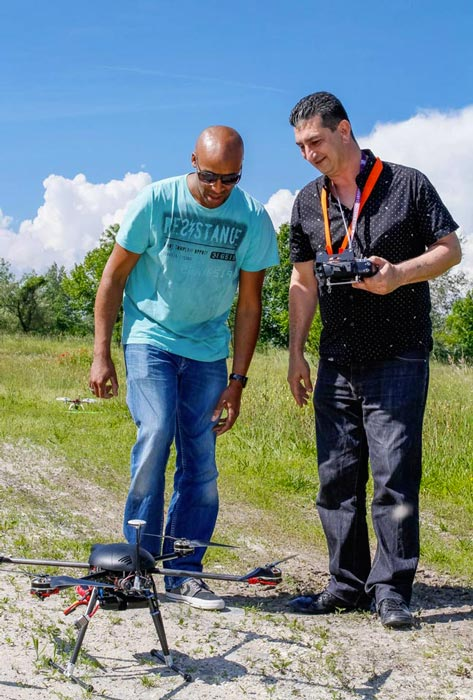 formation drone - telepilote