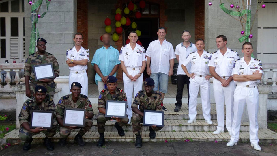 Formation pratique RSMA martinique